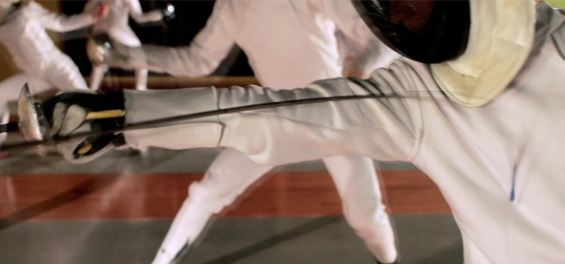 Fencers learn good sportsmanship, self-discipline, gain quick reflexes and how to compete independently.